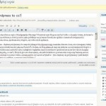 Wordpress 2.8 - Kokpit
