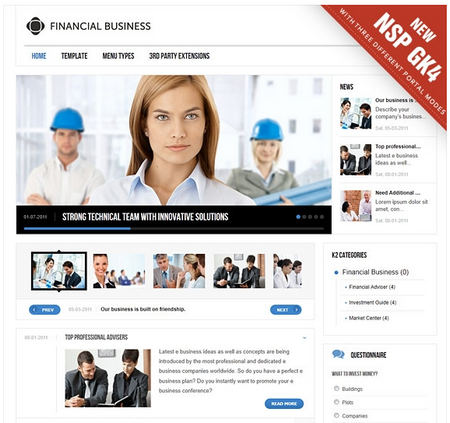 Gavick Financial Business