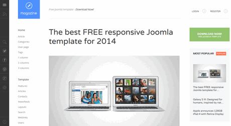 Gavick magazine darmowy szablon dla joomla elimu blog for Joomla template builder software