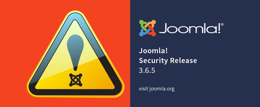 Joomla! 3.6.5 najnowsza poprawka bezpieczeństwa