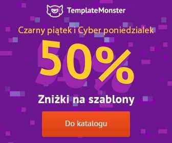 Czarny Piątek i Cyber Poniedziałek w Template Monster Polska – 50% obniżki