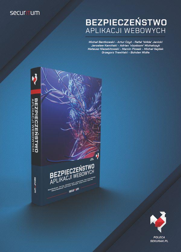 """Rusza przedsprzedaż książki """"Bezpieczeństwo aplikacji webowych"""""""