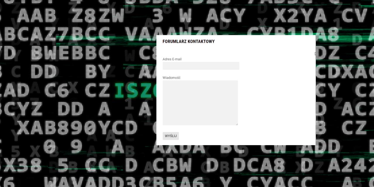 Zabezpieczenie REST-API a Contact Form 7